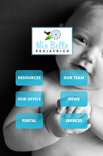 Mia Bella Pediatrics Mobile App